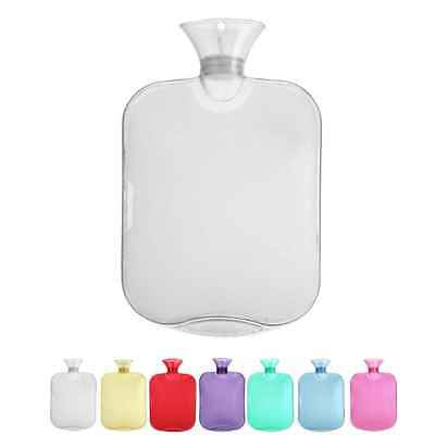 1Pc/lot Thick bag transparent 2000ml Large hot water bottle high anti-explosion