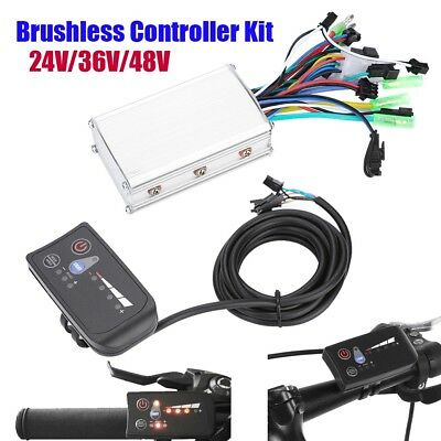 24/36/48V Electric Bicycle Scooter Brushless Controller E-bike LED Display Panel
