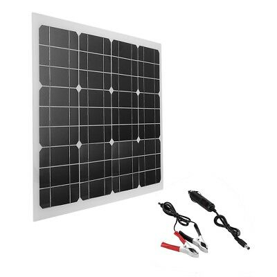 6.5/30W 5/18V Waterproof Solar Panel Mobile Power USB Battery Phone Charger