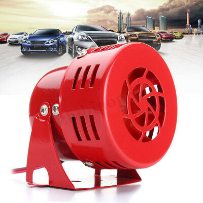 12V 30W Car Alarm Siren Buzzer Horn Electronic Wired For Security System Warning