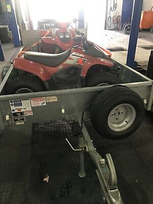 ifor williams trailer P8e Extremely Good Condition