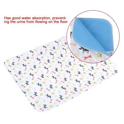 Reusable Dog Training Pee Pads Washable Waterproof Bed Mat for Dogs Puppies