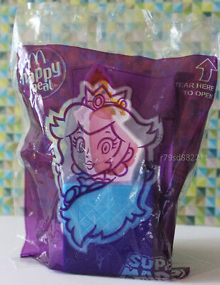Princess Peach Spinning Game Spielzeug Super Mario Happy Meal UK 2018, Drehspiel