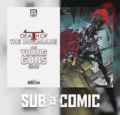 Death Of Inhumans #4 Larraz Young Guns Connecting Variant (Marvel 2018) Comic