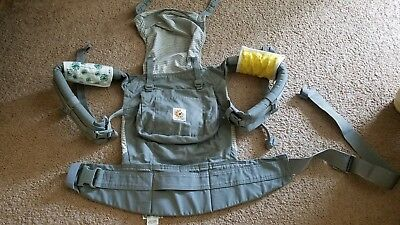 Ergo baby carrier, Original – Misty Grey, 0-48 month, w/ infant insert