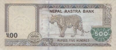 NEPAL 500 Rupees P-NEW 2016 (2018) UNC ONE TIGER