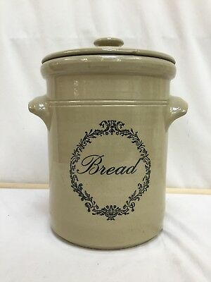 Vintage Pearsons of Chesterfield Stoneware Bread Crock Good Con