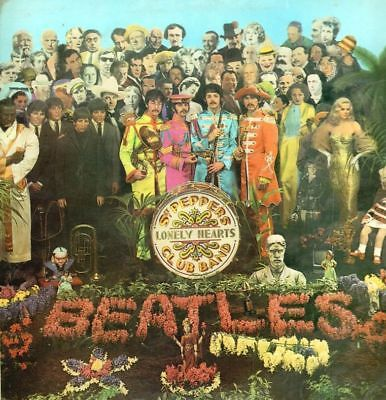 The Beatles(Vinyl LP Gatefold)Sgt. Pepper's Lonely Hearts Club Band-Par-VG-/VG