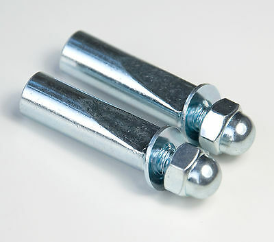 "Pair of Standard 3/8"" Replacement Cotter Pins For Cottered Cranks Raleigh BSA"