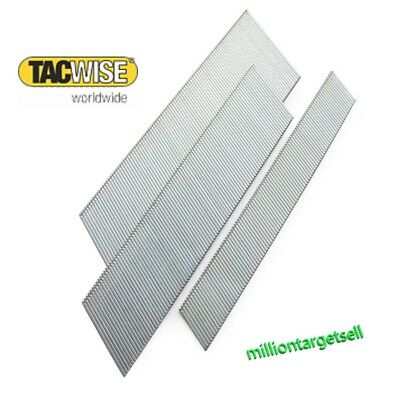 100 5000 ANGLED Brad Nails Galvanised Type500 18G Tacwise 20 25 30 35 40 45 50mm