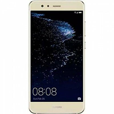 "Huawei P10 Lite WAS-LX1A 32GB 12MP Android Mobile Smartphone Gold Unlocked 5.2""."