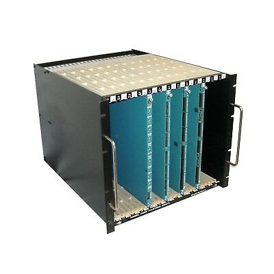 Kinetic Systems F050-B13 Fastbus Crate w/LeCroy 1810,1878,1877,1881M Cards