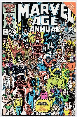 Marvel Age A 2 VFM   previews, full comic art + features, 48 S., 1986