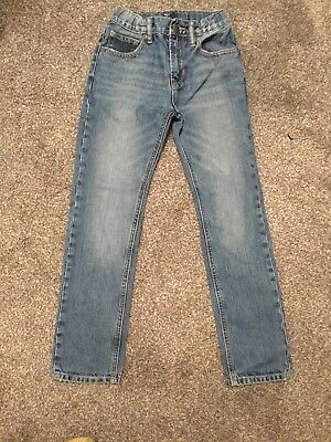Boys Jeans Age 8-9 Years Stonewashed Jeans By Gap Kids - Fab Condition - Barg