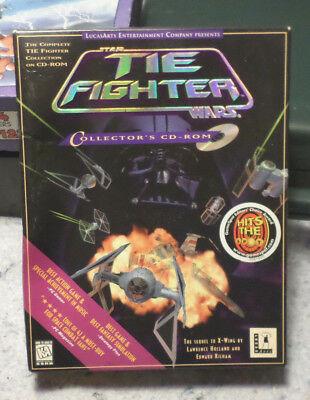 Star Wars: TIE Fighter Collector's CD-ROM [1998] [PC Game] Vintage PC Game