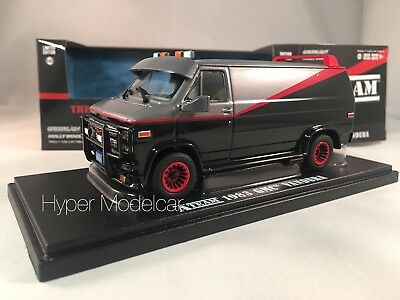 GREENLIGHT 1/43 GMC Vandura Cargo G-series Van A-Team 1983 Art. 86515