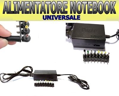 Alimentatore Per Notebook Pc Universale 120W Hp Sony Asus Acer Toshiba Compaq