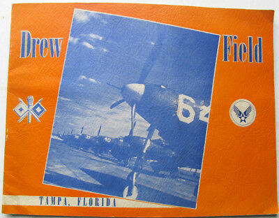 Drew Field Tampa Int'l Airport FL Florida US Army Air Force 1943 Photo View Book