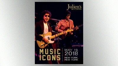 Julien's auction catalog: Music Icons 2018, 255 glossy pages