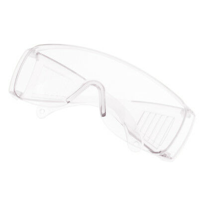Safety Glasses Protective Work Labour Eyewear Resistant Goggles -Transparent