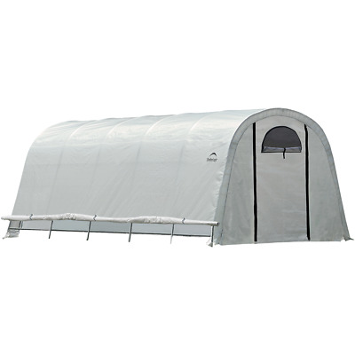 ShelterLogic GrowIT® Heavy Duty Round Greenhouse 12 x 20 x 8 ft.