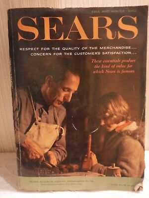 VINTAGE 1962 SEARS  Fall + Winter Catalog of 1515 Pages GREAT REFERENCE ITEM
