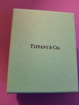 Genuine Men's TIFFANY & Co. .925 Sterling Silver Money Clip with box and pouch