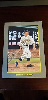 "#71 FLOYD ""ARKY"" VAUGHAN, Pirates ~ Perez-Steele Turkey Red Cabinet T3 style HoF"