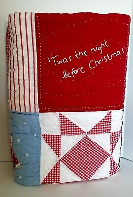 Pottery Barn Kids 'Twas The Night Before Christmas' Toddler Quilt
