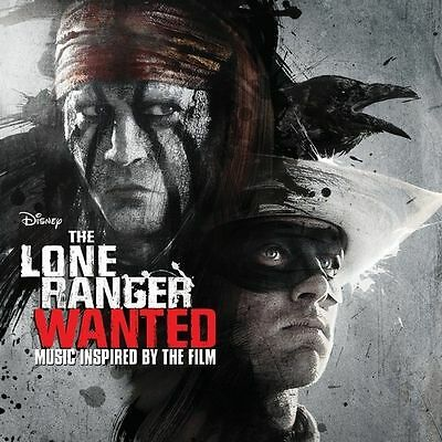 The Lone Ranger: Wanted Various Artists Audio CD Disney