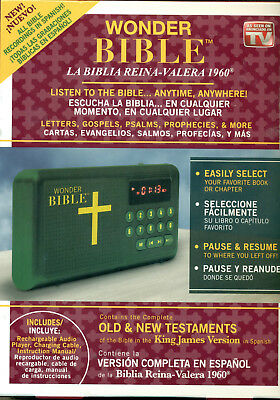 *WONDER BIBLE As Seen On TV SPANISH VERSION FACTORY BRAND NEW FREE SHIPPING*