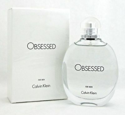Obsessed By Calvin Klein 4.0 Oz EDT Spray New In Box Sealed Cologne For Men