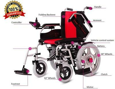 Electric Foldable Wheelchair Scooter MedicalVehicle Post 3-Year Warranty For You