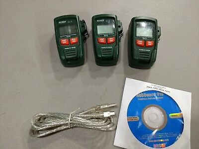 EXTECH RHT20 Humidity and Temperature Data Logger