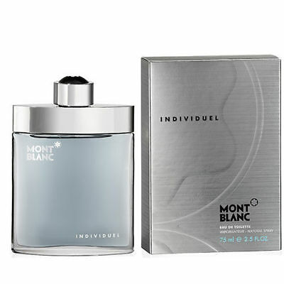 Individuel By Mont Blanc 2.5 Oz EDT Spray New In Box Sealed Cologne For Men