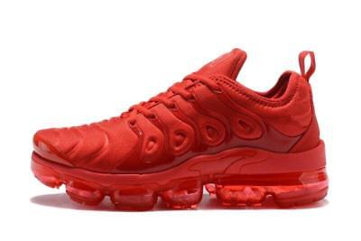 Nike Air Vapormax TN Plus (Red) Men's Running Shoes Athletic Sport Size 10