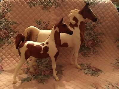 breyer horse chubasco and caravelle