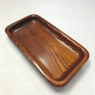 H826: Japanese quality wooden tray for green tea SENCHA with very good grain