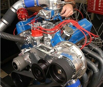 Ford Sbf Reverse Drive Gara Procharger F-1X Supercharger Kit