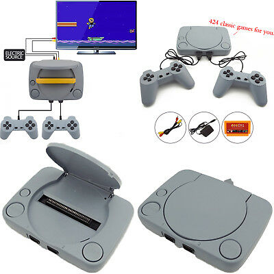 424 Games Mini Super 8-Bit Classic Video Game TV Console + Controllers AV Output