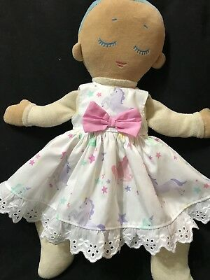 Dolls Clothes - Sleeveless Dress Made to Fit Lulla Doll