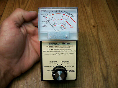 TriField METER Magnetic Electric Radio/Microwave Detection
