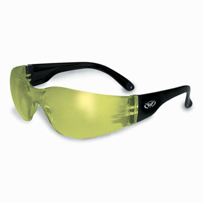 Global Vision Eyewear Rider Anti-Fog Sunglasses with Yellow Lens