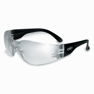 Global Vision Eyewear Rider Anti-Fog Sunglasses with Clear Lens