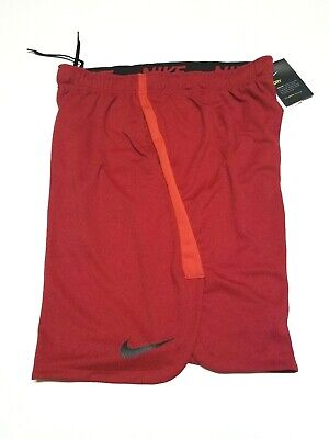 "cbeae6ada3cb8 Nike Men  Fly Shorts 4.0 Training 9"" Red Polyester 890811 687 New Sz L"