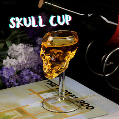 FA51 55ml Skull glass glass Head Vodka Drinking Ware Home Bar gift artware