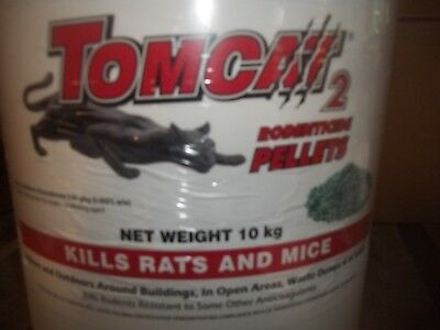 Tomcat 2 Bait Grain  10  Kg Tub ***free Delivery*****  Winter Is Coming