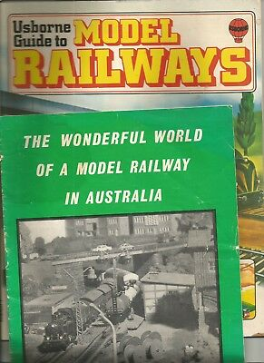 2 x Model Railway Books softcover....!