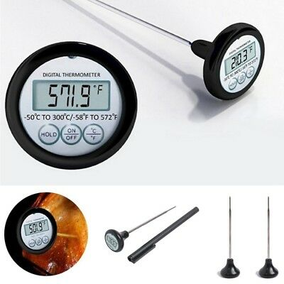1x Digital Meat Food Thermometer Liquid Deep Fry Cooking Kitchen Supplies Tool