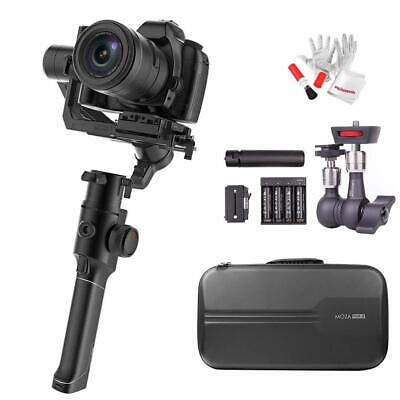 MOZA Air 2 3-Axis Stabilized Handheld Gimbal for Mirrorless DSLR+ Case+ Arm